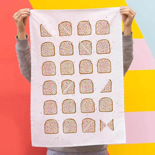 Iconic Fairy Bread Tea Towel