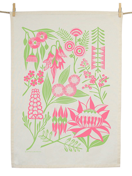 Organic Cotton Rich and Rare Tea Towel