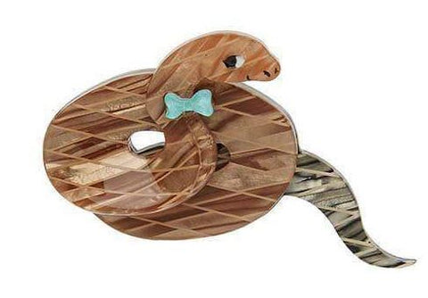 Erstwilder Theodore The Trim Taipan Brooch