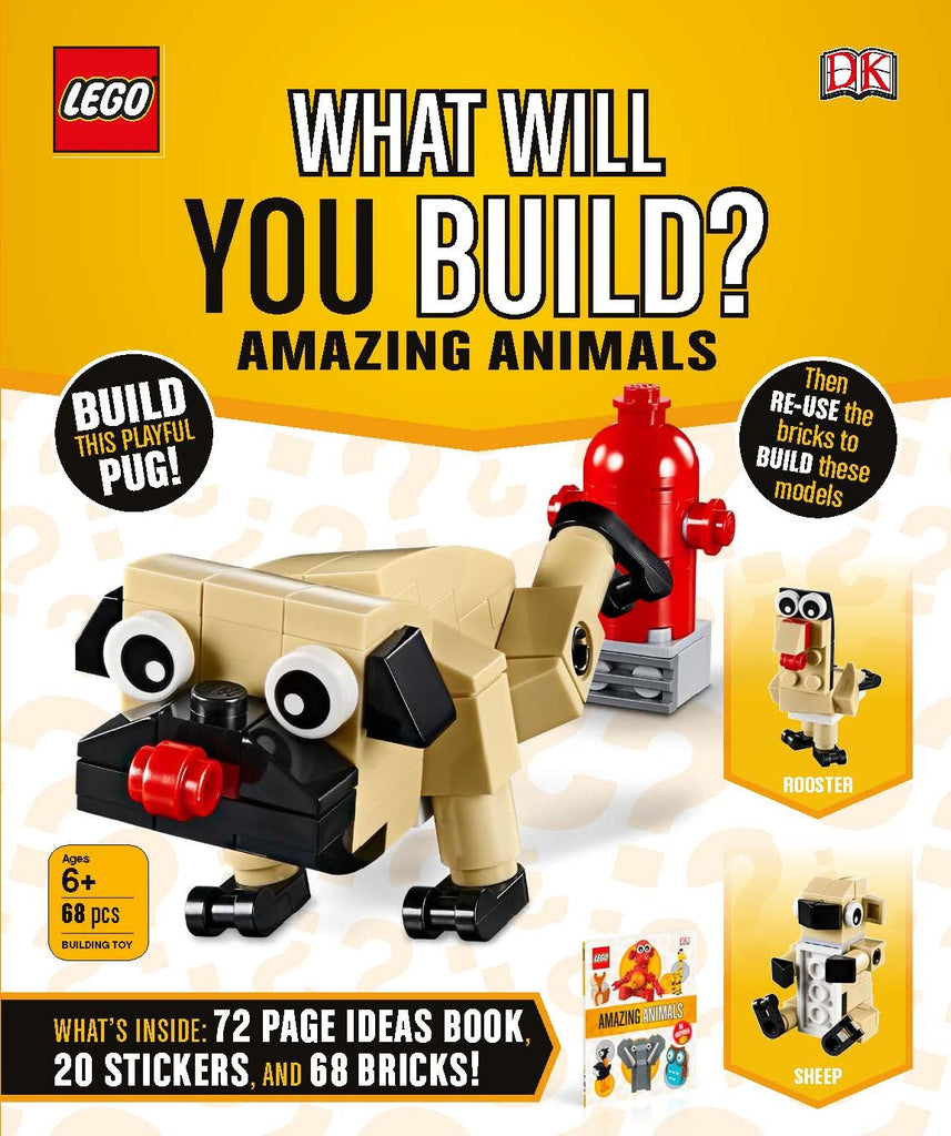What Will You Build? Amazing Animals