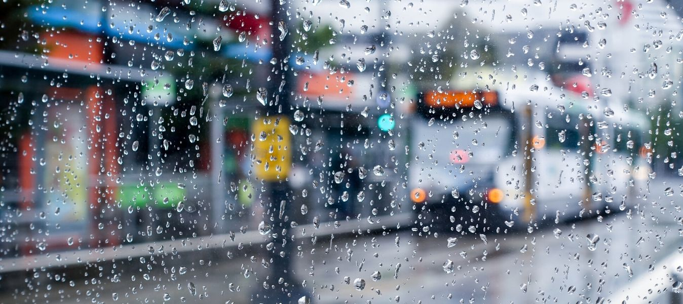 How to Survive in the Rain When Traveling on Transit