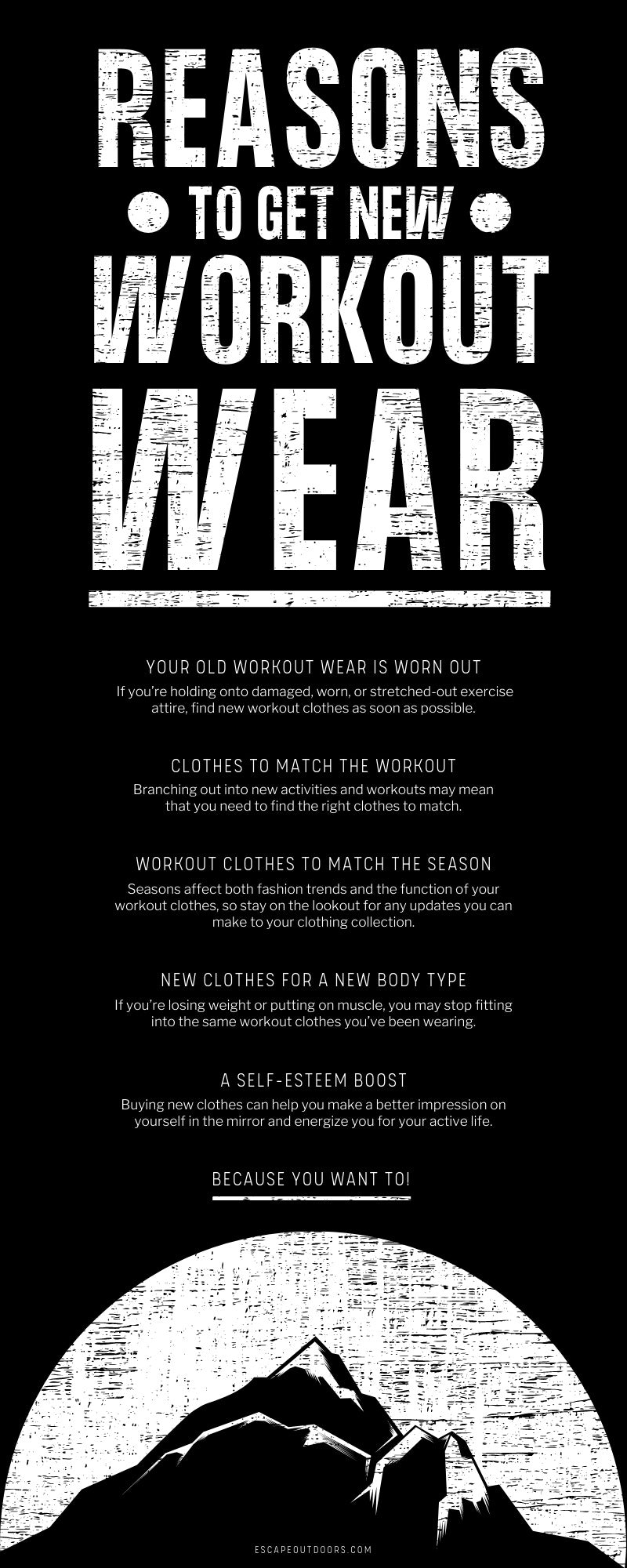 Reasons To Get New Workout Wear