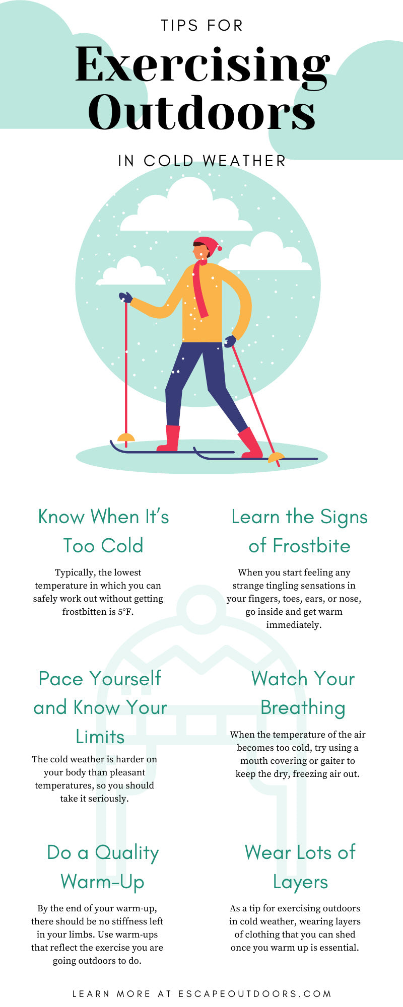 Tips for Exercising Outdoors in Cold Weather