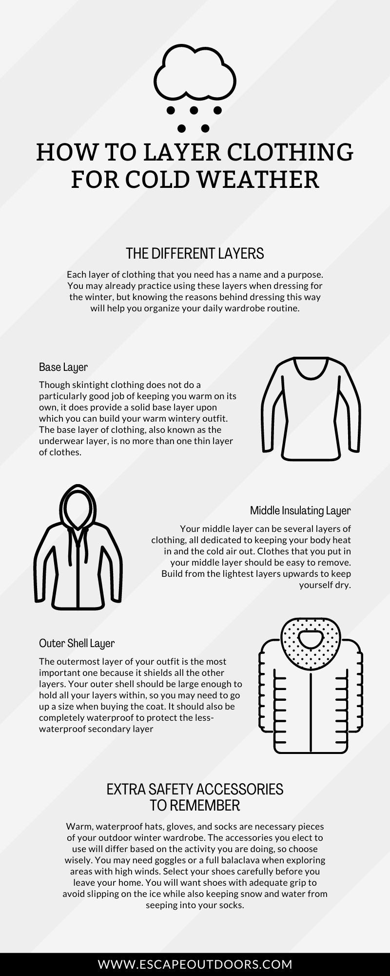 Clothing for Cold Weather