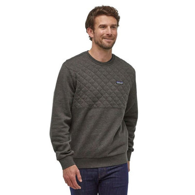 Patagonia Men's Organic Cotton Quilt Crewneck Sweatshirt