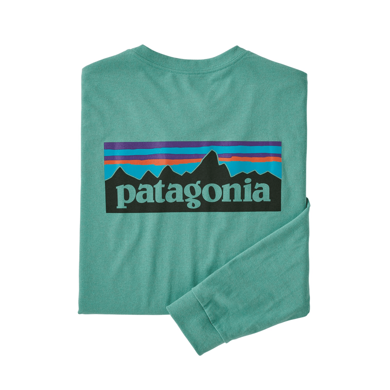 Patagonia Men's Long-Sleeved P-6 Logo Responsibili-Tee Shirt