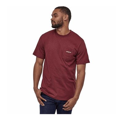 Patagonia Men's P-6 Logo Pocket Responsibili-Tee - Past Season