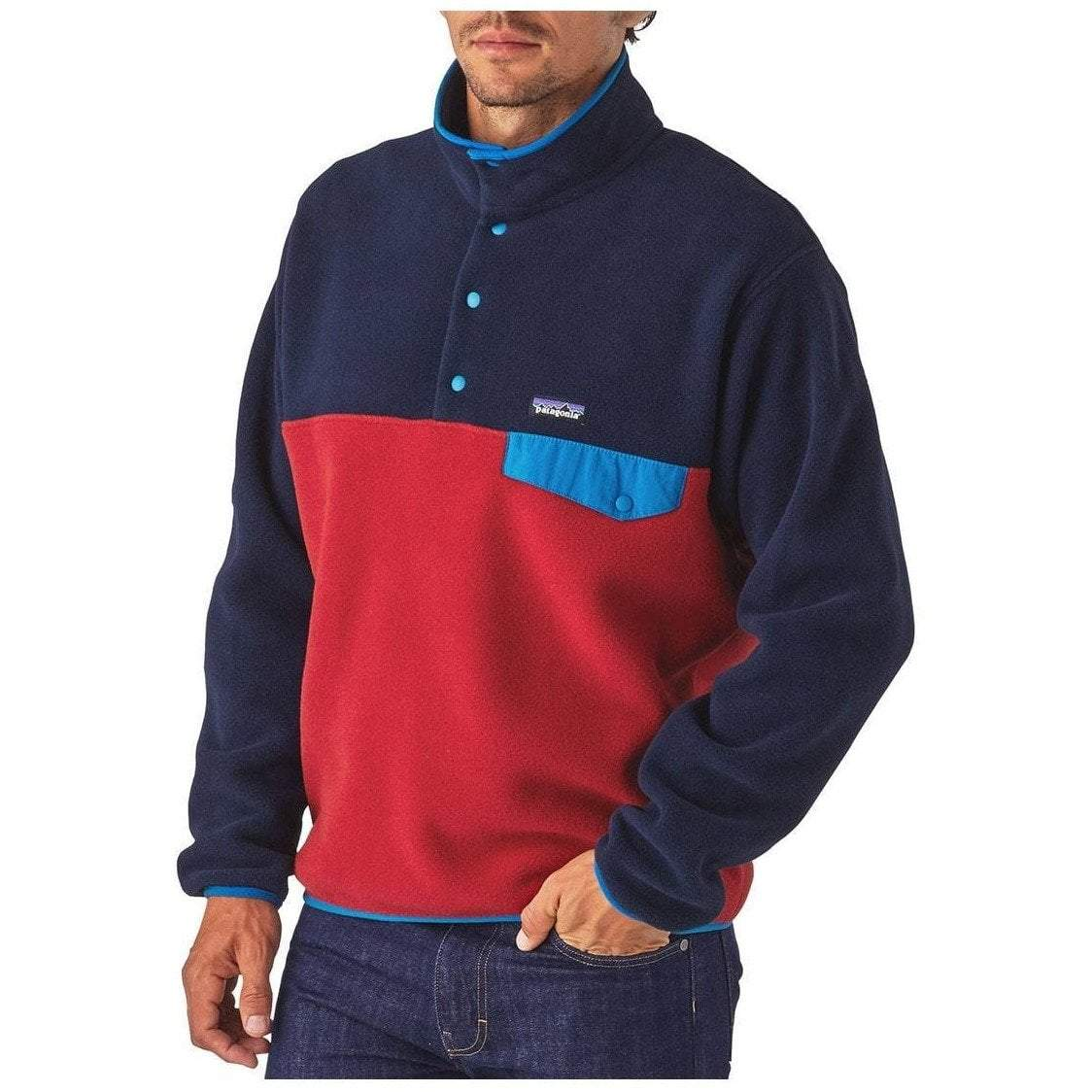 New Mens PATAGONIA Lightweight Synchilla Snap-T Pullover ~ MULTIPLE SIZES