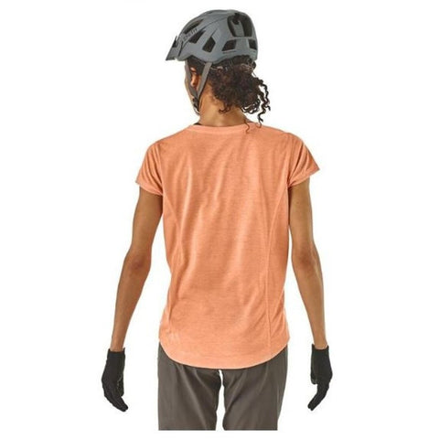 Patagonia Women's Cap Cool Trail Bike Henley