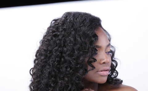 Indian Deep Curly Lace Closure