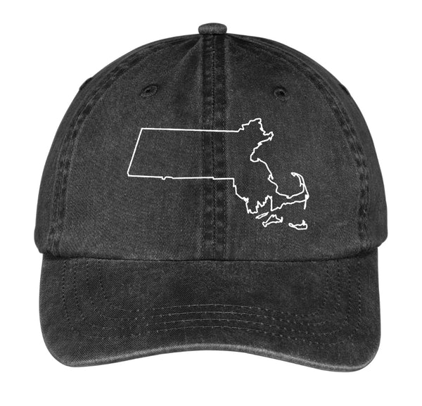 Dad Hat State Collection - MASSACHUSETTS