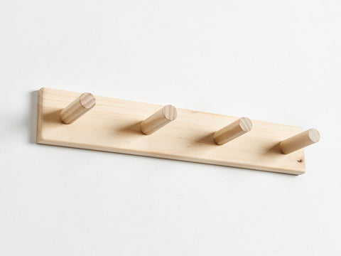 plywood coat rack