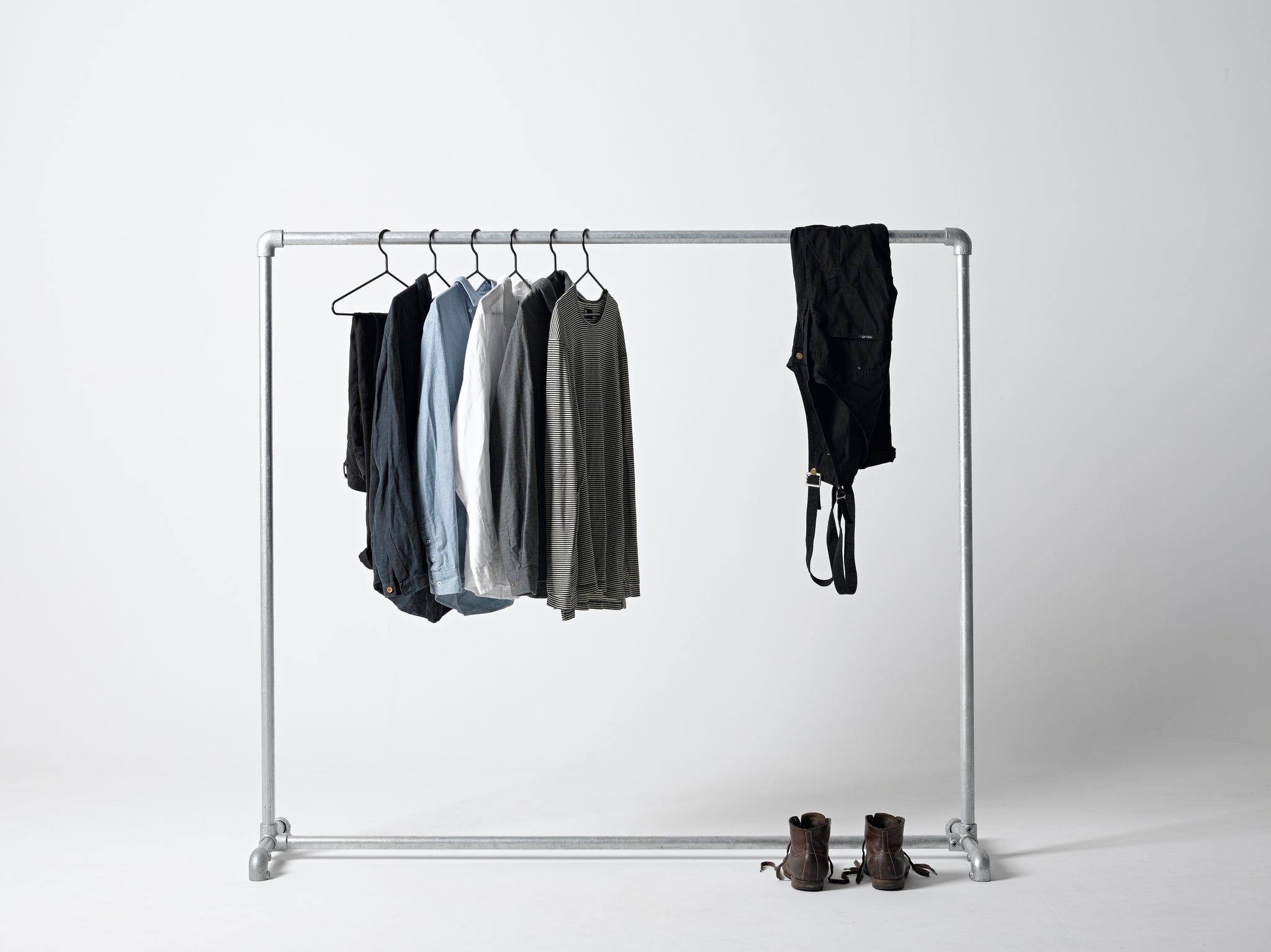 Commercial Clothing Rack (Galvanised)