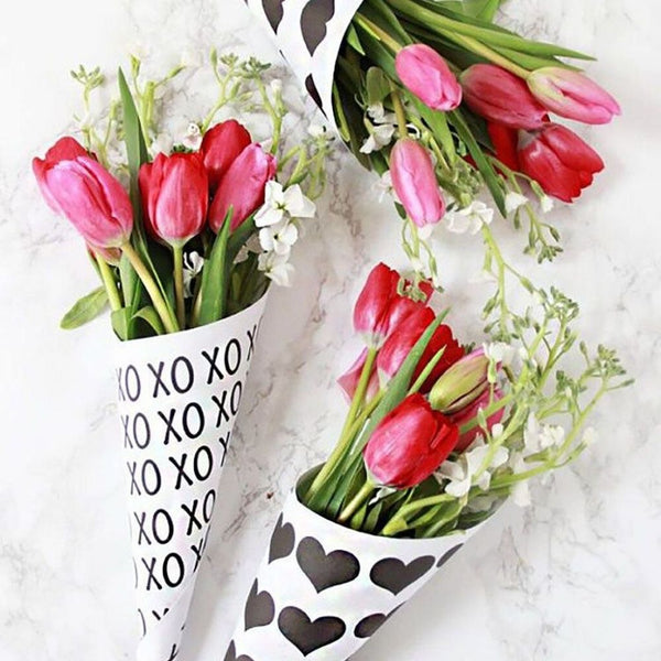 Printable Flower Bouquet Wraps