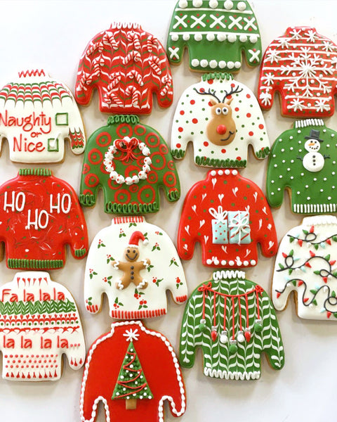 Ugly Sweater Cookie Decorating Workshop Sydney