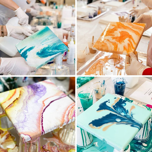 Fluid Art Fluid Pour Workshops Sydney