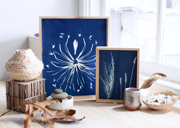 Cyanotype Workshop Sydney Indigo Mandala Botanical Art
