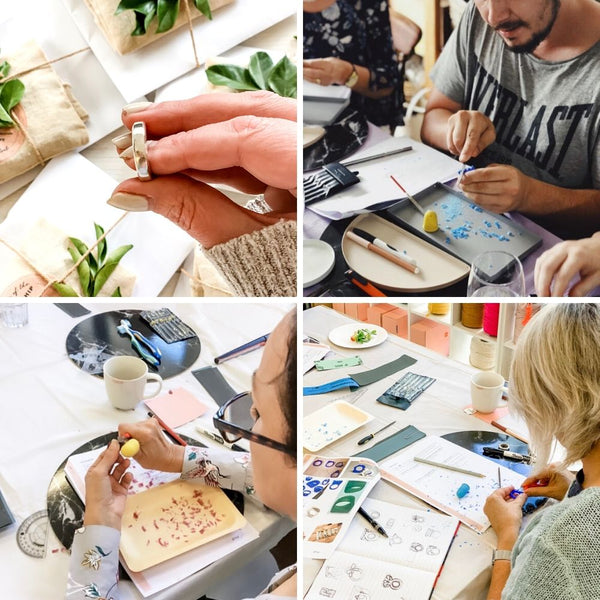 Silver Friendship Ring making jewellery workshop Sydney