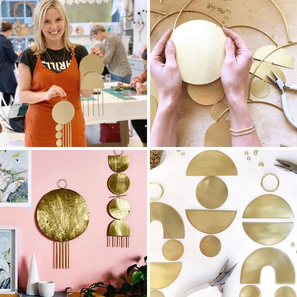 Brass Wallhanging Workshop in Sydney