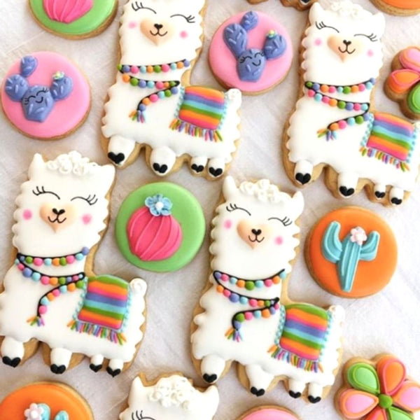 Llama Cookie Decorating Workshop Sydney