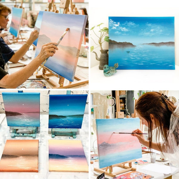 Waterscapes Oil Painting Workshop Sydney