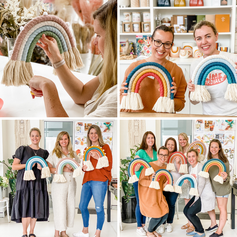 MACRAME RAINBOW WORKSHOP-Workshop-Little Lane Workshops