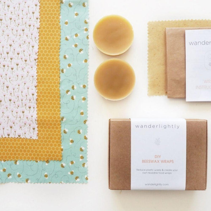 Beeswax Wrap DIY Kits - Little Bees-Beeswax-Little Lane Workshops