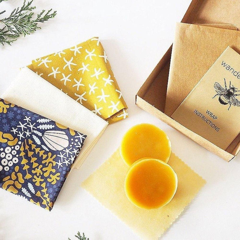 Beeswax Wrap DIY Kits - Oceans-Little Lane