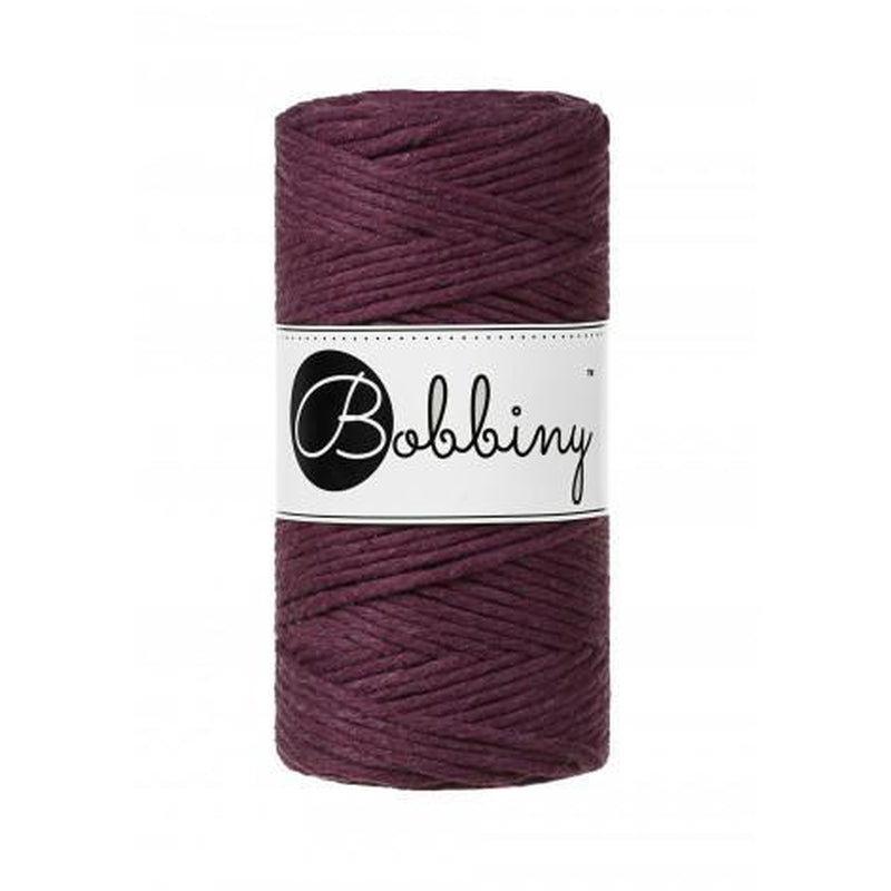 Bobbiny Macrame Twisted Mop Cotton - Coloured 3mm x 100 meters-Macrame-Little Lane Workshops