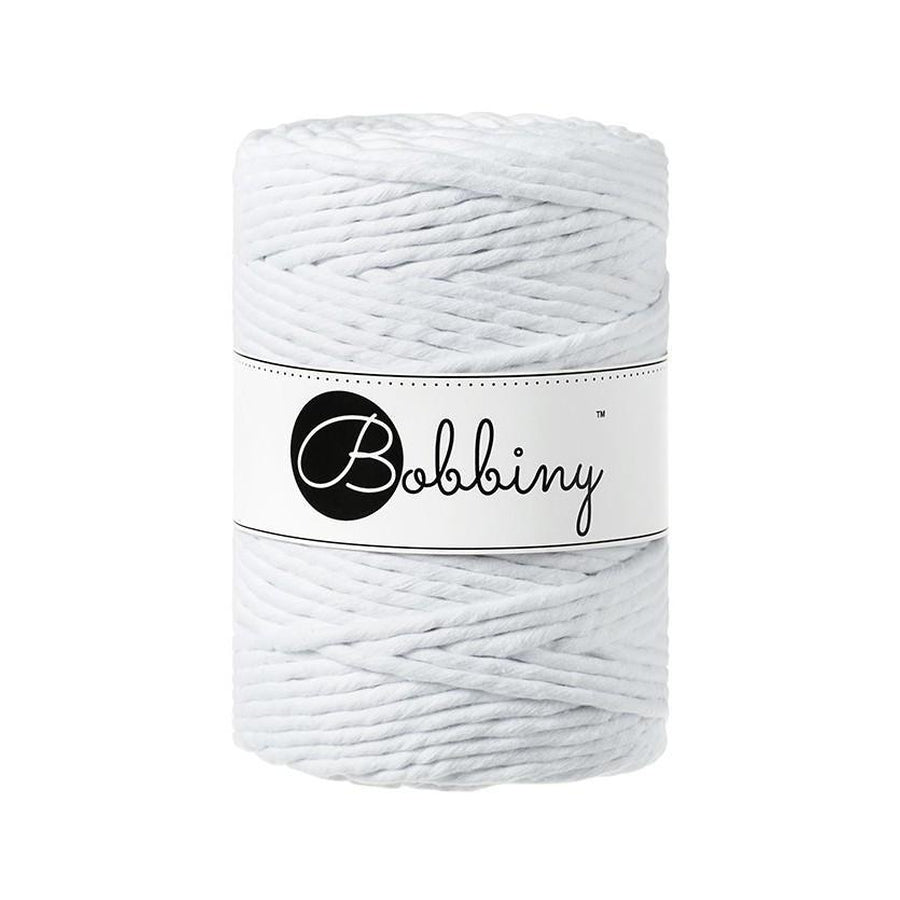 Bobbiny Macrame Twisted Mop Cotton - Coloured 5mm x 100 meters-Macrame-Little Lane Workshops