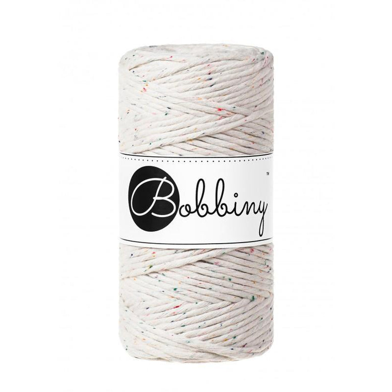 Bobbiny Rainbow Dust Twisted Mop Cotton x 100 meters-Little Lane