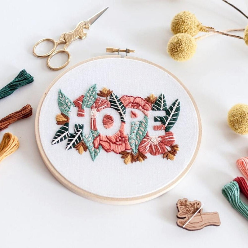 BEAUTIFUL YOU EMBROIDERY Kit by Brynn & Co