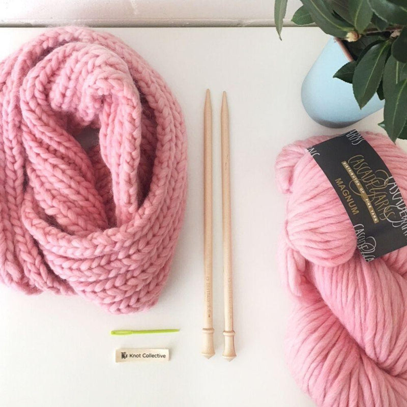 INTRODUCTION TO CHUNKY WOOL KNITTING WORKSHOP-Little Lane