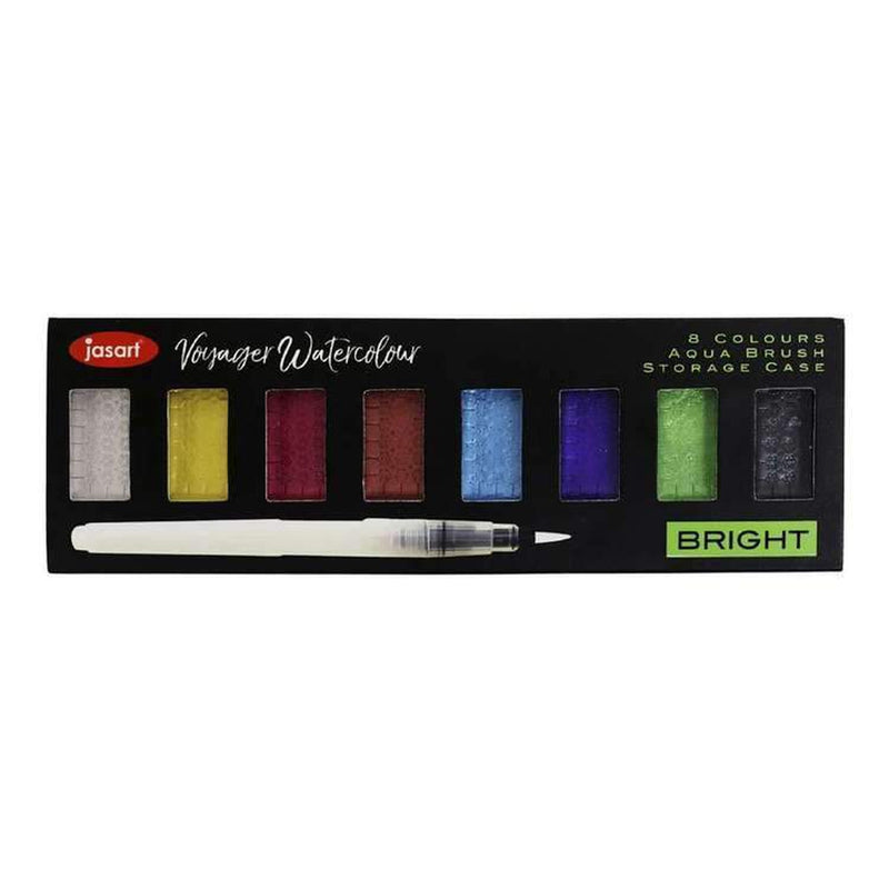 Jasart Voyager Metallic Water Colour Sets-Little Lane