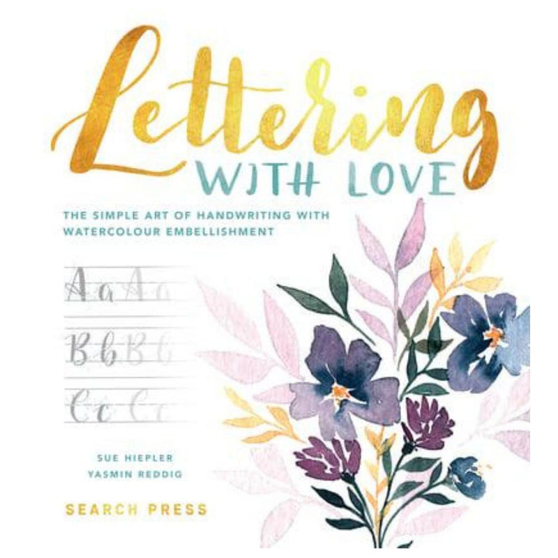 LETTERING WITH LOVE BOOK-Magazine & Books-Little Lane Workshops