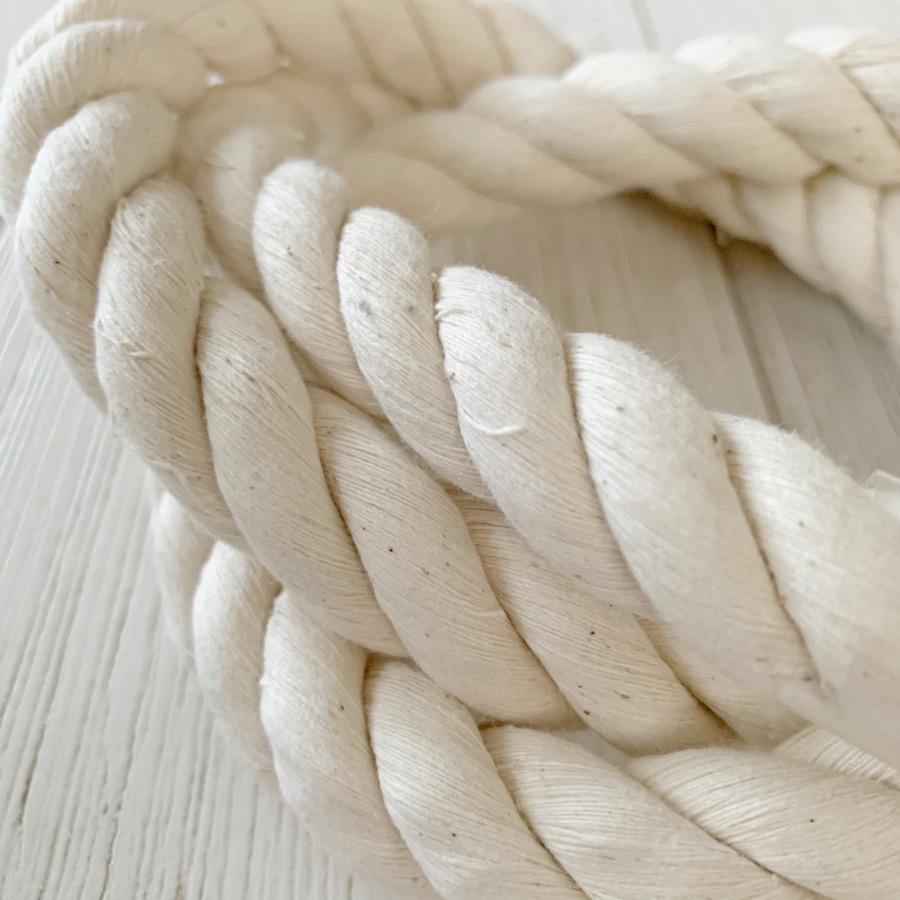 Macrame Twisted Cotton Rope 16mm-Little Lane Workshops