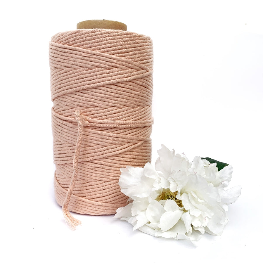 Macrame Twisted Mop Cotton - Coloured 4mm x 1kg (Approx 270 Meters)-Macrame-Little Lane Workshops