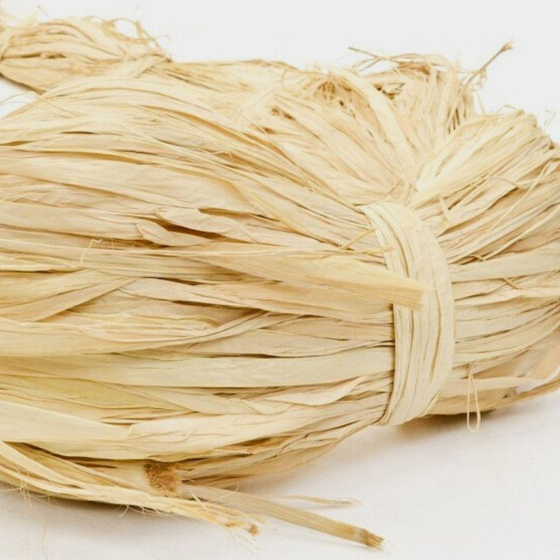 Natural Raffia - 1kg-Little Lane