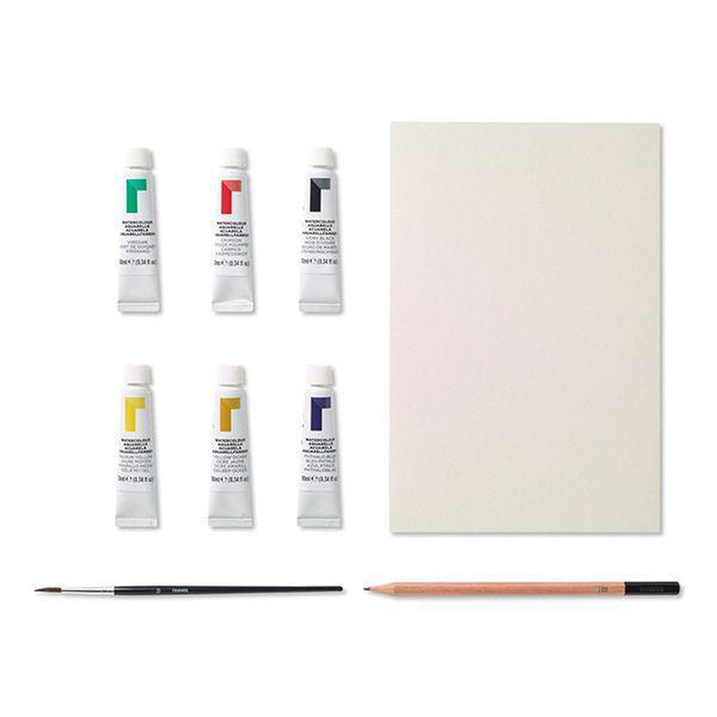 Reeves Watercolour Starter Set-Art Supplies-Little Lane Workshops