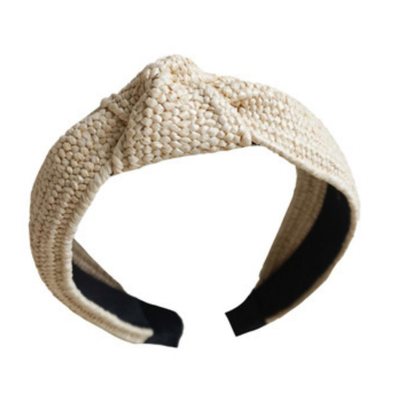 Top Knot Head Band - Woven Light-Little Lane