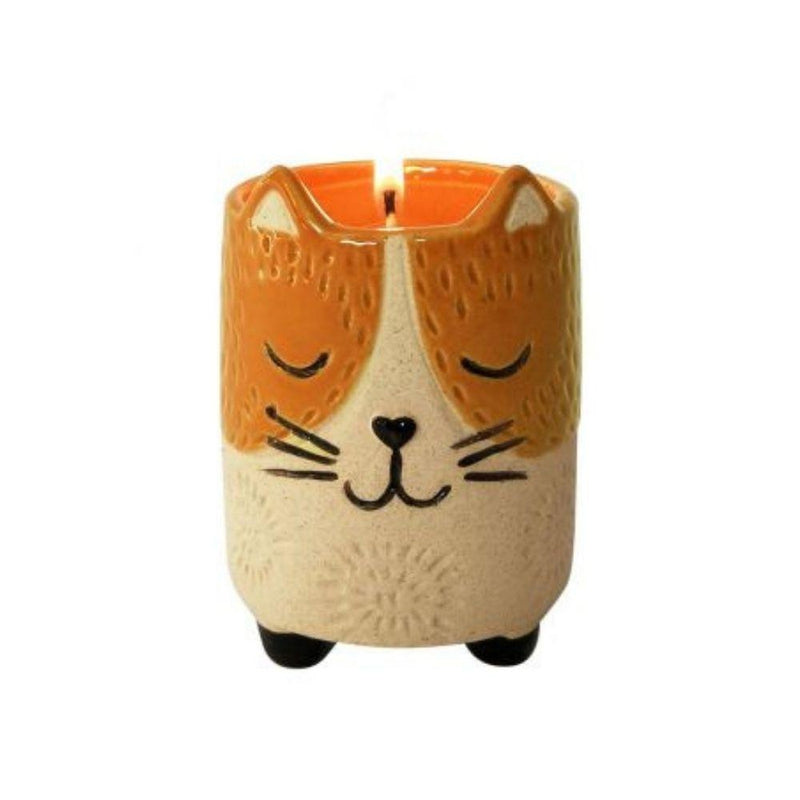 Vanilla Kitty Cat Soy Candle-Little Lane