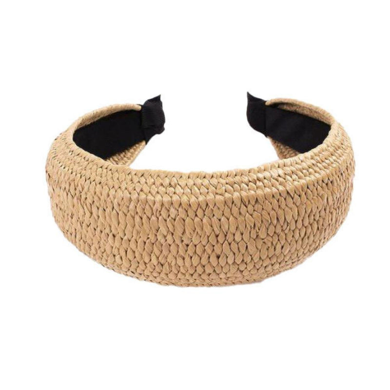 Top Knot Head Band - Woven Light