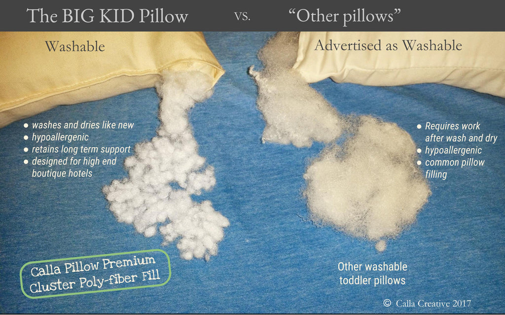 Big Kid Pillow (ages 4+)
