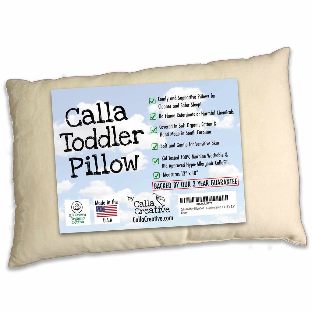 Calla Toddler Pillow (ages 2+)