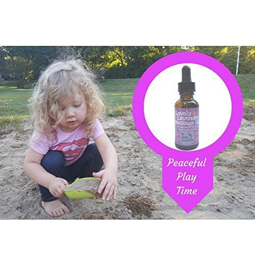 Essential Oils - Organic Lavender In Fractionated Coconut Oil - Pure Essential Oils For Babies By Calla Creative