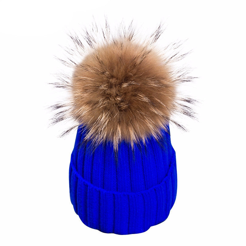 Knitted Bobble Beanie - BEHIND HEMLINES - 14