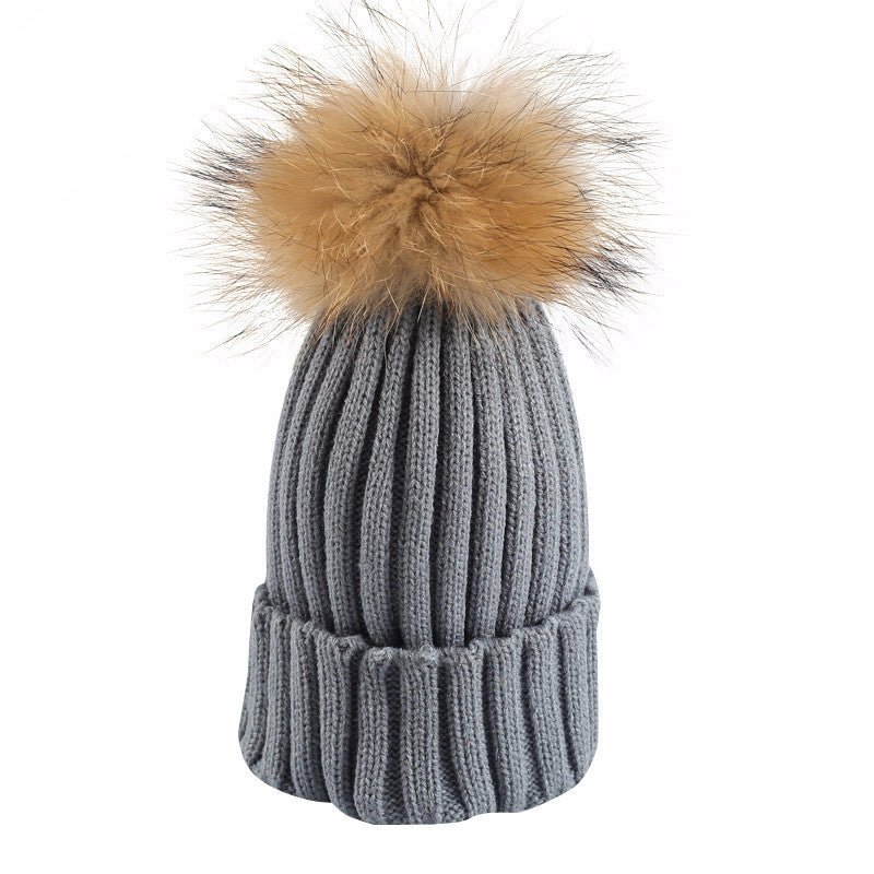 Knitted Bobble Beanie - BEHIND HEMLINES - 11