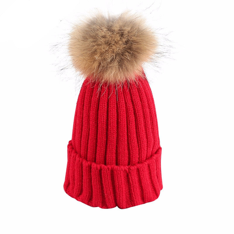 Knitted Bobble Beanie - BEHIND HEMLINES - 12