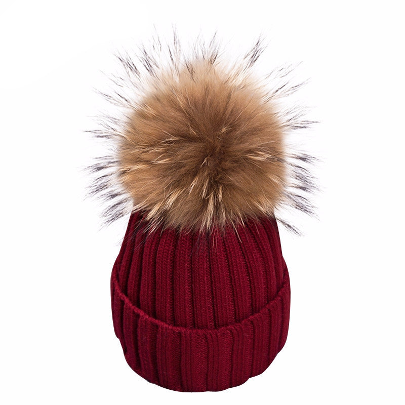 Knitted Bobble Beanie - BEHIND HEMLINES - 15