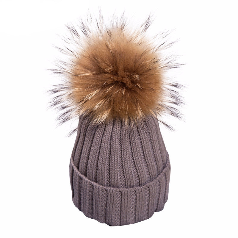 Knitted Bobble Beanie - BEHIND HEMLINES - 13